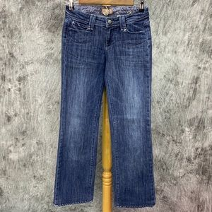 Paige Pacific Heights Bootcut Jeans Sz 25